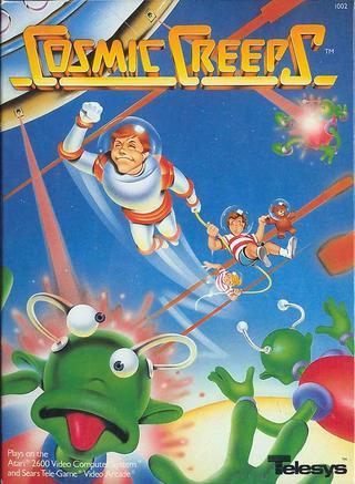 Comprar Cosmic Creeps barato Atari 2600