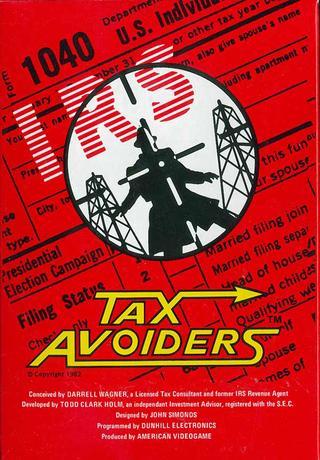 Comprar Tax Avoiders barato Atari 2600