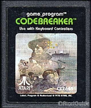 Comprar Codebreaker barato Atari 2600