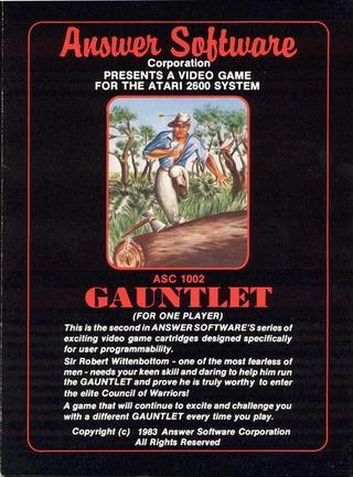 Comprar Gauntlet barato Atari 2600