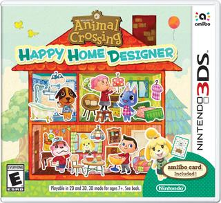 Comprar Animal Crossing Happy Home Designer barato 3DS