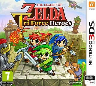 Comprar The Legend of Zelda: Tri Force Heroes barato 3DS