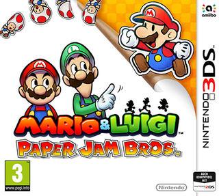 Comprar Mario & Luigi: Paper Jam Bros. barato 3DS