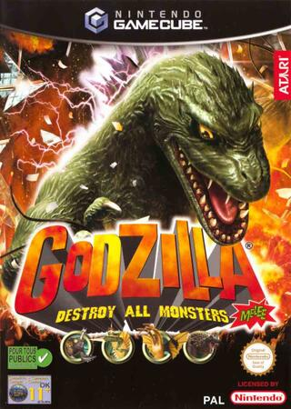 Comprar Godzilla: Destroy All Monsters Melee barato GameCube