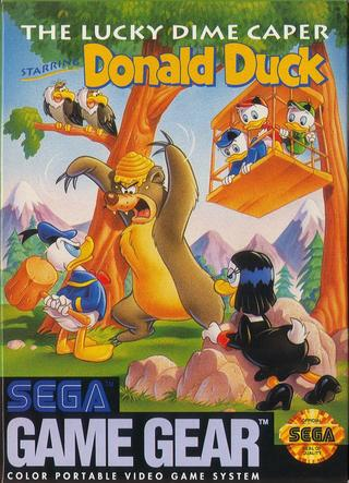 Comprar The Lucky Dime Caper Starring Donald Duck barato Game Gear