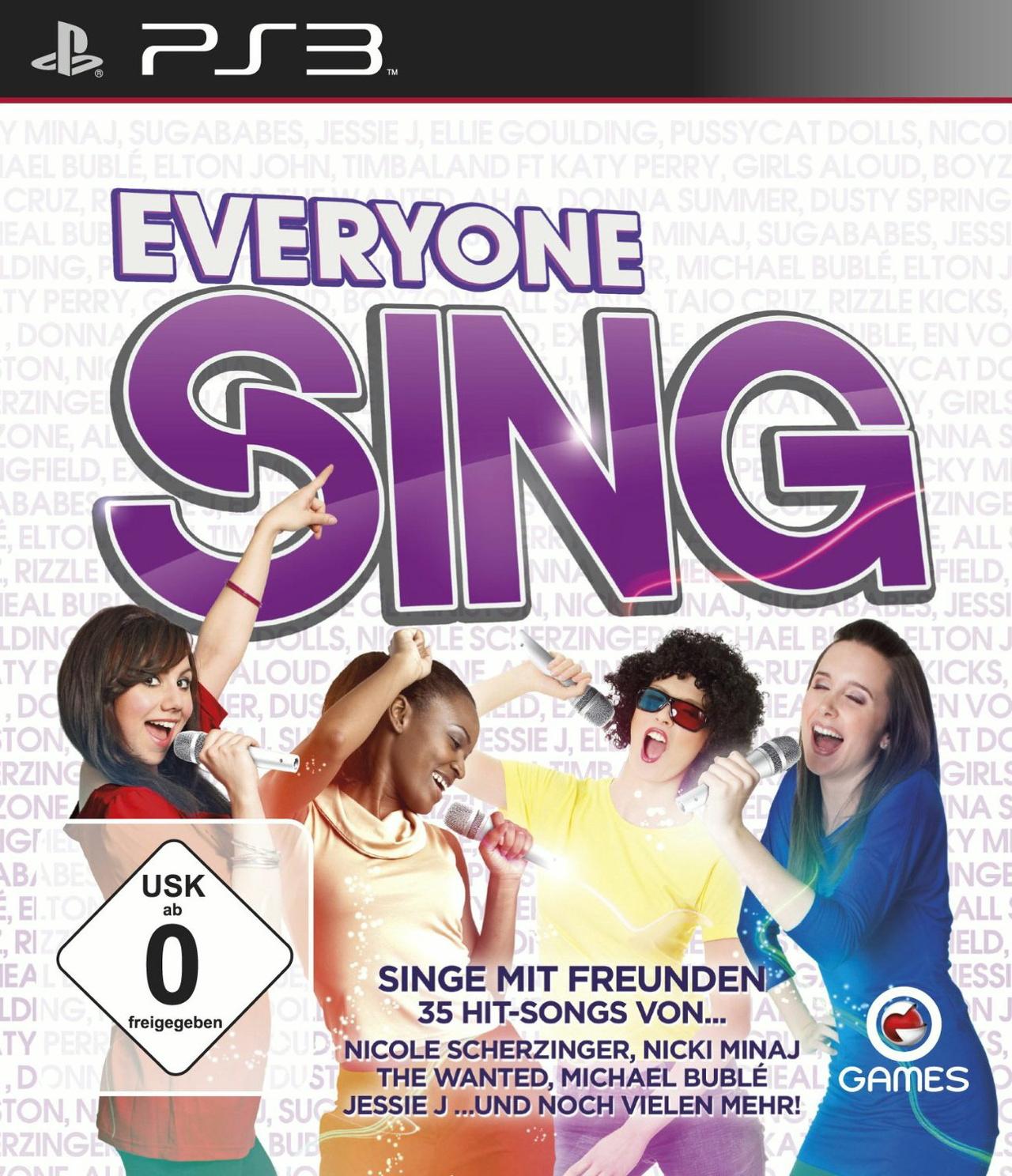 Everyone Sing - Sony Playstation 3