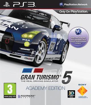 Comprar Gran Turismo 5 (Academy Edition) barato PS3