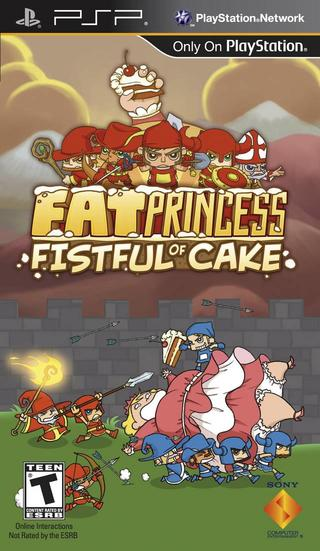 Comprar Fat Princess barato PSP