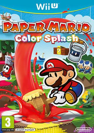 Comprar Paper Mario Color Splash barato Wii U