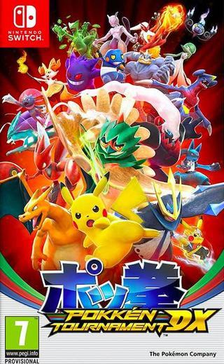 Comprar Pokken Tournament DX barato Switch