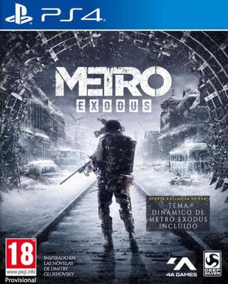 Comprar Metro Exodus barato PS4