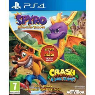 Crash Bandicoot N-Sane Trilogy + Spyro Reignited