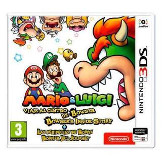 Comprar Mario & Luigi - Viaje al centro de Bowser + Las peripecias de Bowsy barato 3DS