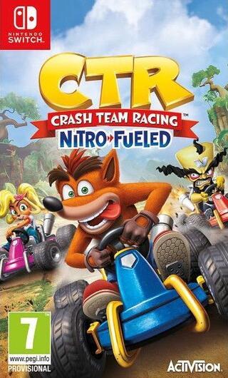 Comprar Crash Team Racing Nitro Fueled barato Switch