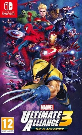 Comprar Marvel Ultimate Alliance 3: The Black Order barato Switch