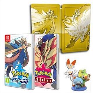 Comprar Pokemon Espada + Escudo Steelbook barato Switch
