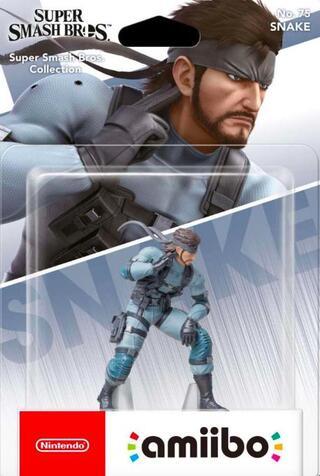 Comprar Solid Snake (Amiibo) barato amiibo