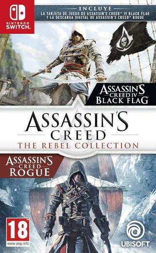 Assassin's Creed The Rebel Collection (AC IV Black Flag+ Rogue)