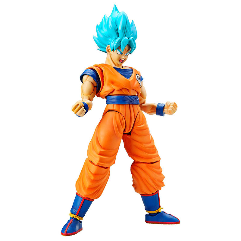 Figura Model Kit Super Saiyan God Super Saiyan Son Goku Dragon Ball Z 14cm