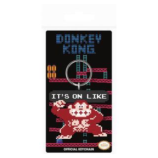 Llavero Donkey Kong It's On Like Nintendo